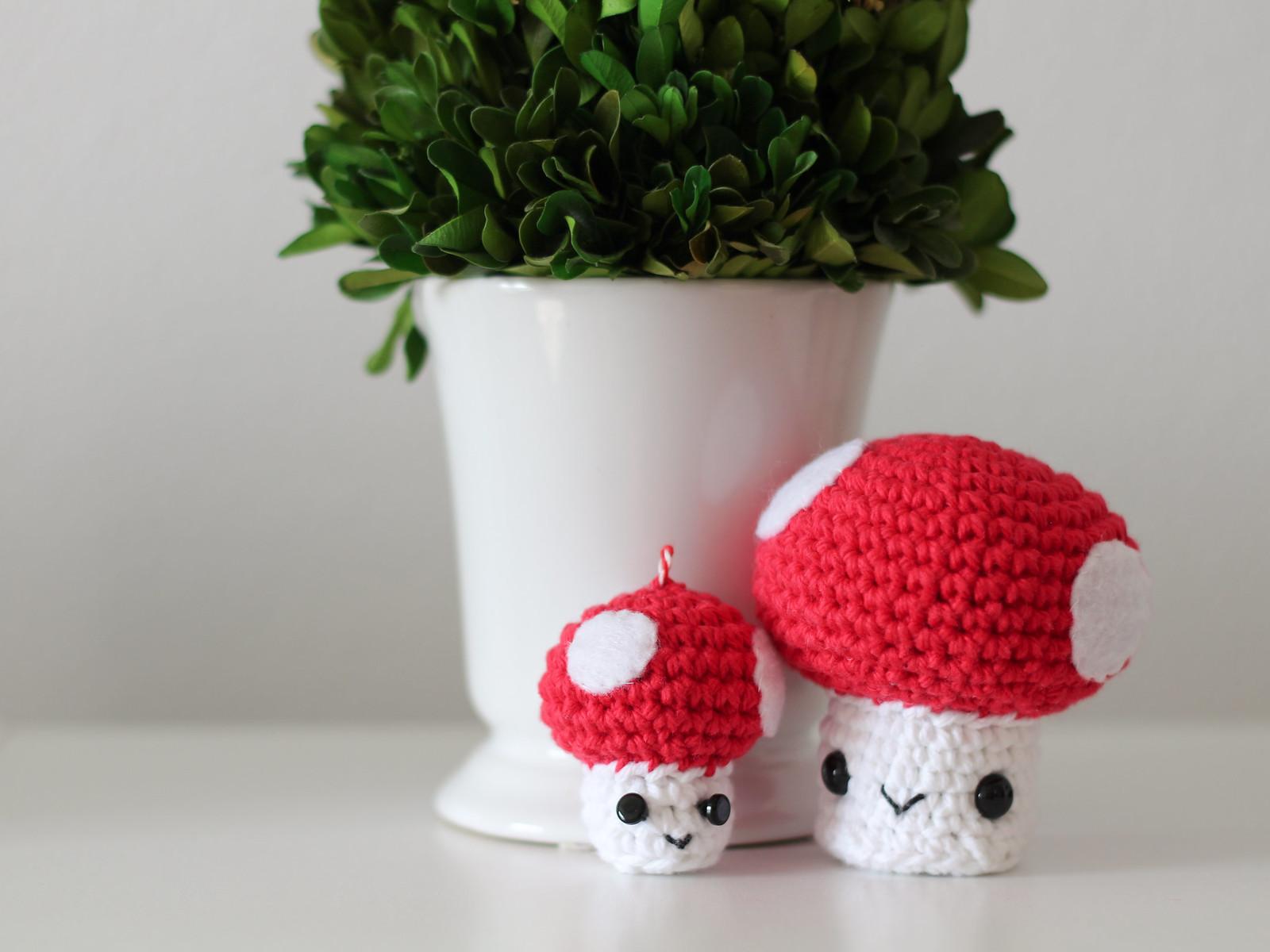 Mama and Baby Mushroom