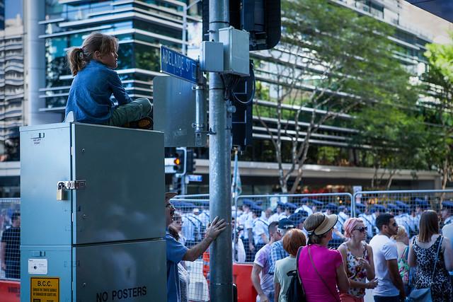 Anzac Day, Brisbane, 2015