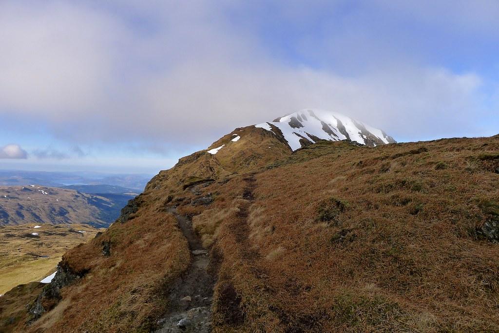 Beinn Bhuidhe ridge