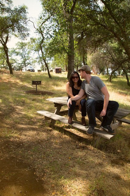 Melissa & Trevor at Folsom Lake