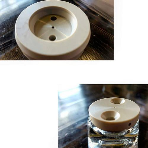 #kvdw Polyetheretherketone (PEEK) dispersion plate. #caffedbolla #espresso #espressomachine