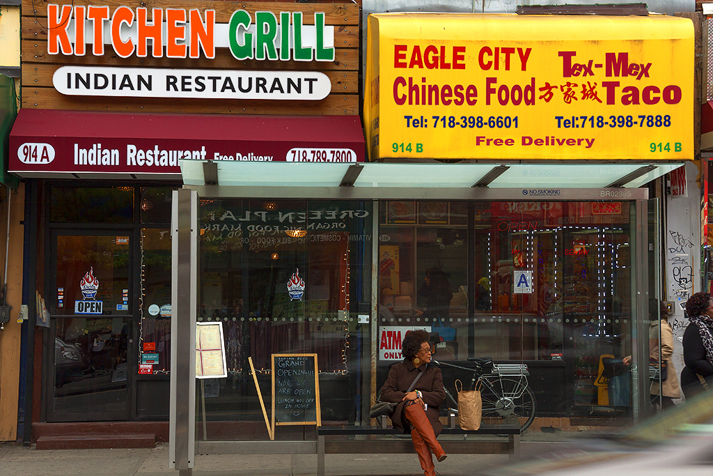 Chinese and Tex-Mex foods in same restaurant--Clinton Hill