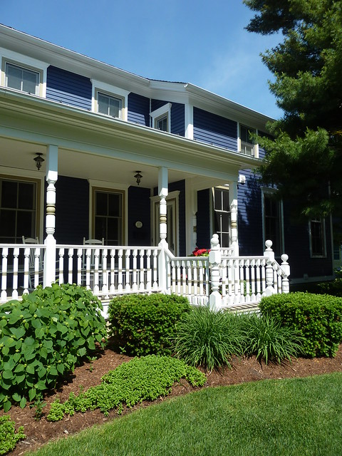 Naperville, IL, Historic Dictrict, House and Porch