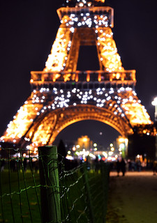 Sparkling Tour Eiffel Background