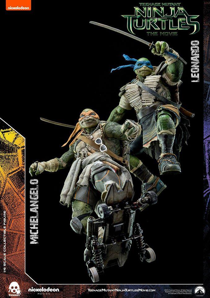 threezero 忍者龜:變種世代【米開朗基羅】Michelangelo 1/6 比例人偶作品