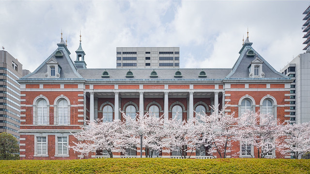 Facade of The former main building of the Ministry of Justice (法務省 旧本館)
