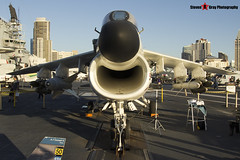154370 NK-507 - B-010 - US Navy - LTV A-7B Corsair II - USS Midway Museum San Diego, California - 141223 - Steven Gray - IMG_6722
