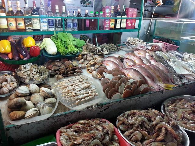 More sea food