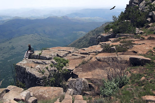contemplation in the Lebombo Mountains