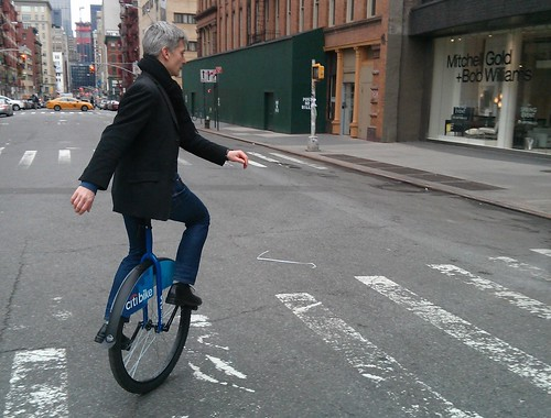 Citibike unicycle