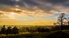 Hazy Sunset on King Henry's Mound
