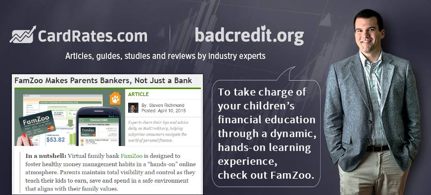 FamZoo Featured on BadCredit.org