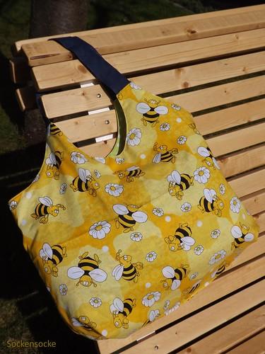 Charlie Bag Bienen Futterstoff