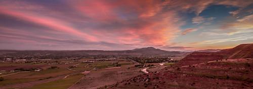 Morning View Over Emmett Valley