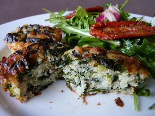 tarte riz épinard pancetta 01