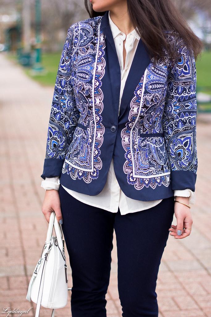 paisley blazer, navy pants, silver pumps-5.jpg