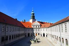 Fountain courtyard of the Munich Residenz in Munich, Germany