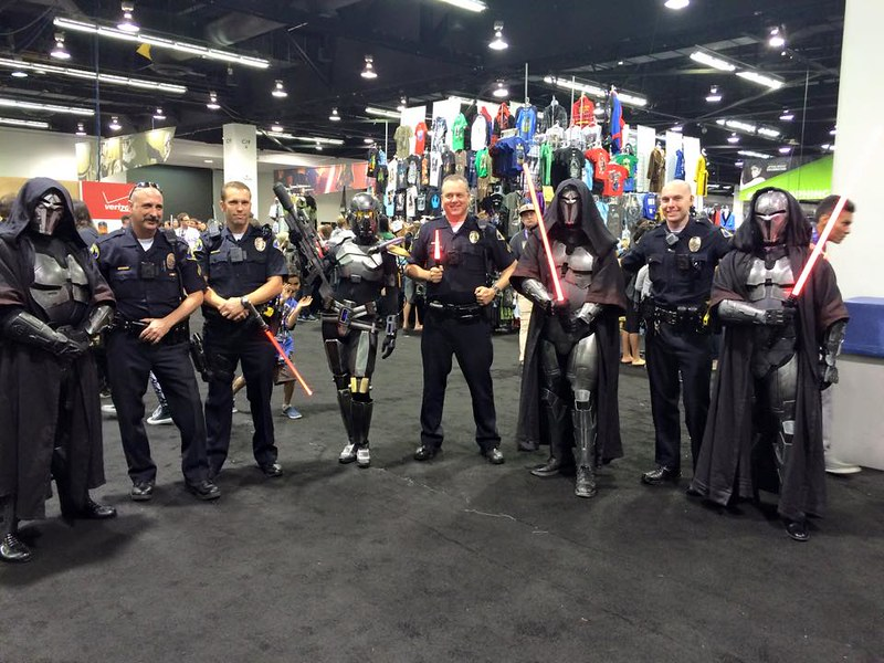 Anaheim PD and the Sith