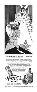 1955 4711 Eau De Cologne ad