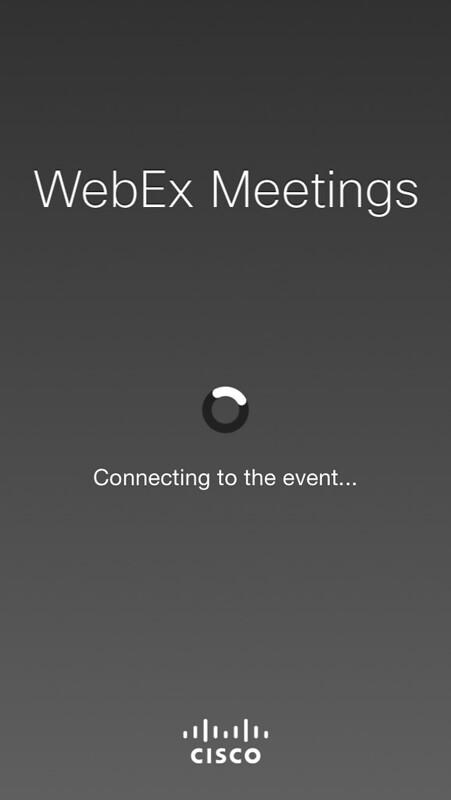 Tableau webex