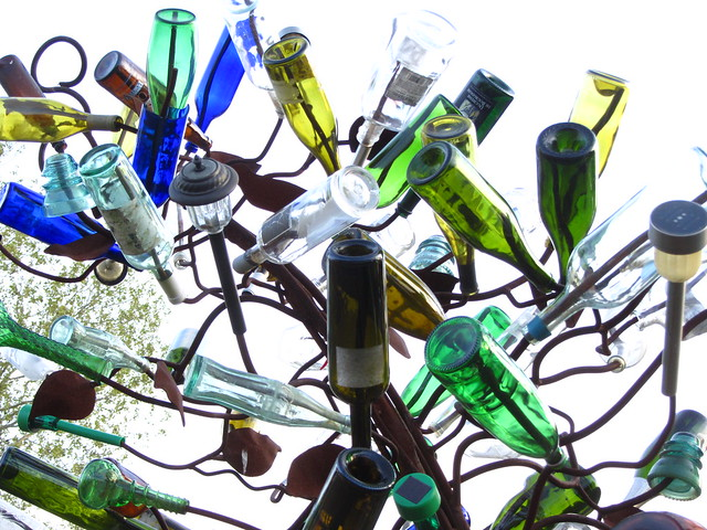 bottle tree, shack up inn