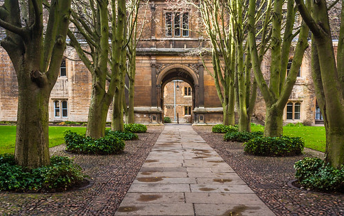 Caius College Courtyard