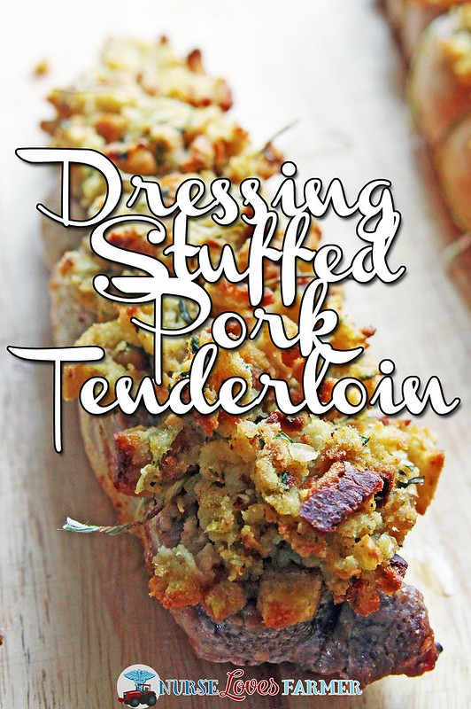 Dressing Stuffed Pork Tenderloin