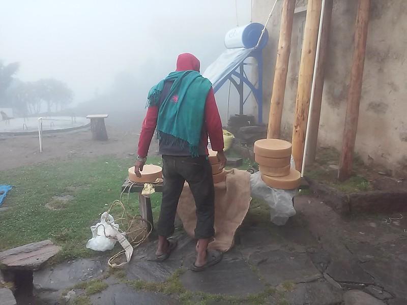 Ячий сыр в Soluchumbu