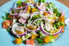 Acorn squash salad.