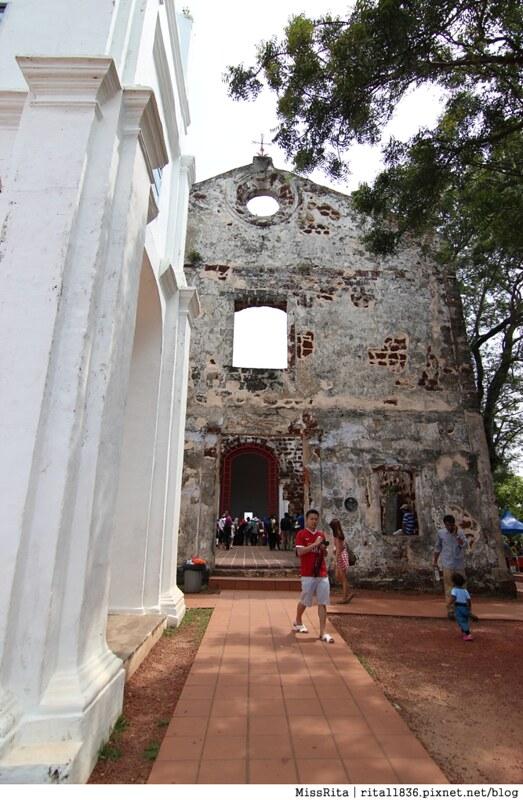 馬來西亞 麻六甲 馬六甲景點 荷蘭紅屋廣場 聖保羅堂St. Paul's Church 馬六甲蘇丹王朝水車 海上博物館26