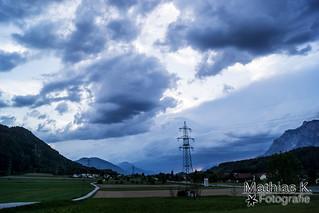 Gewitterwolken