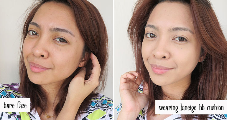 11 Laneige BB Cushion Pore Control Brown Beige Review Swatches - Gen-zel.com (c)