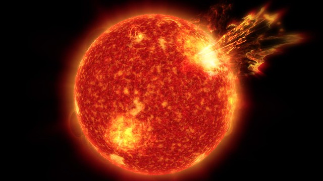 Solar Storms May Have Been Key to Life on Earth