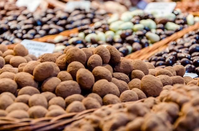Chocolate galore @Boqueria