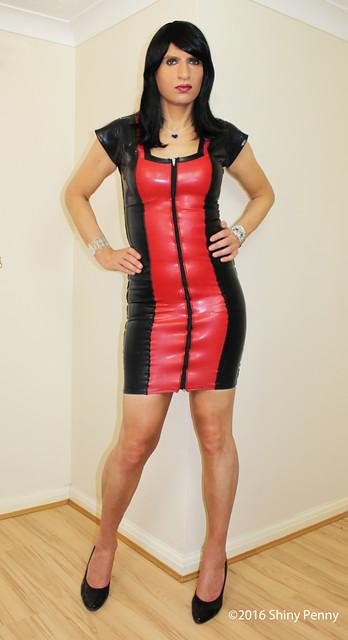 Rubber dress