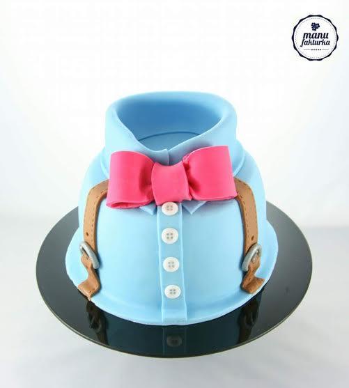 Fathers Day Cake by Joanna W. Bielińska of Manufakturka