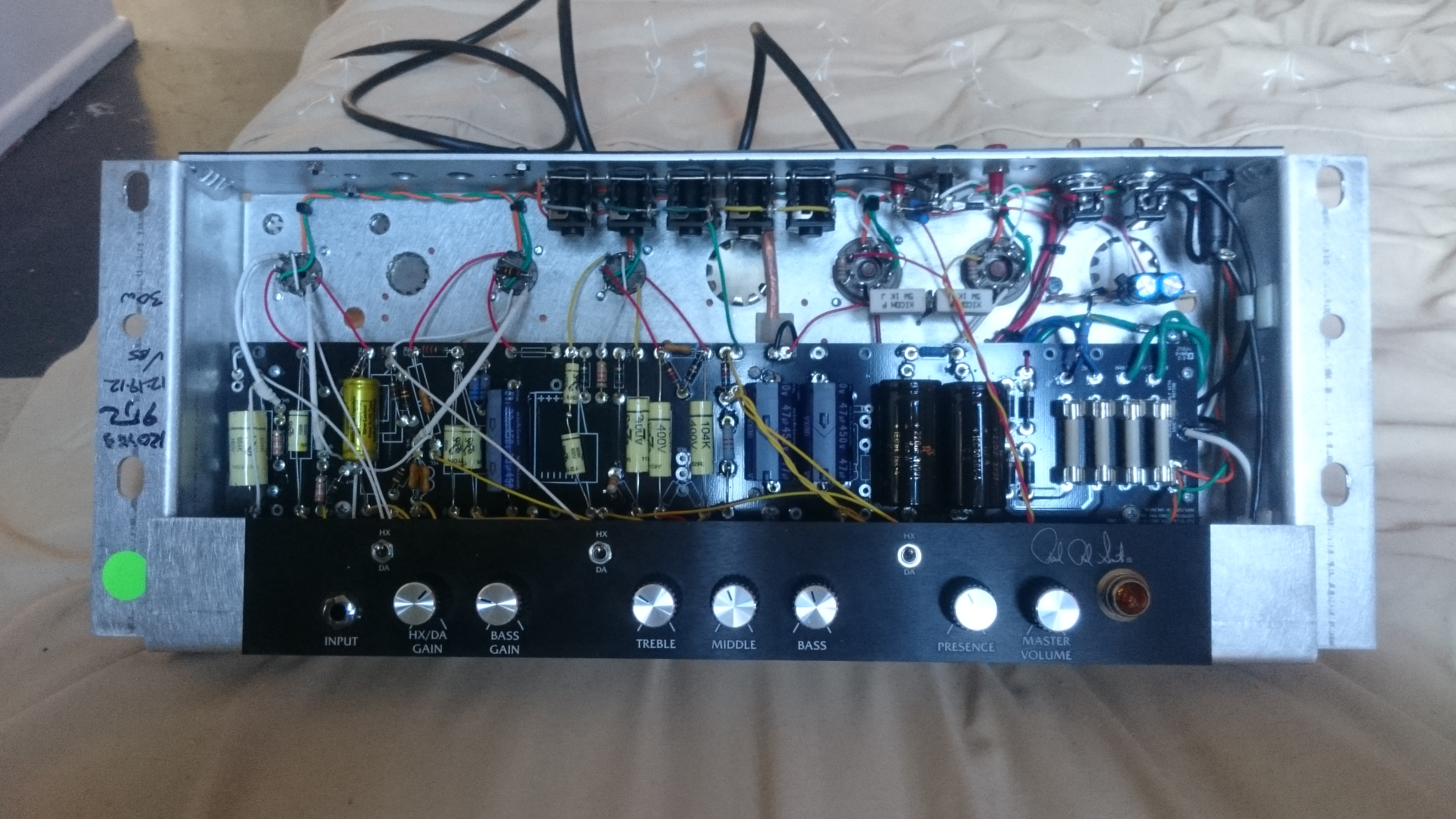 Wiring In PRS Amp Lines | Official PRS Guitars Forum