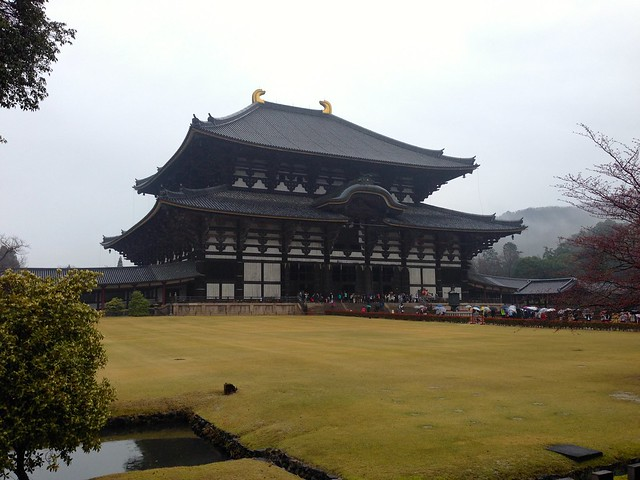 First view of Daibutsuden main hall