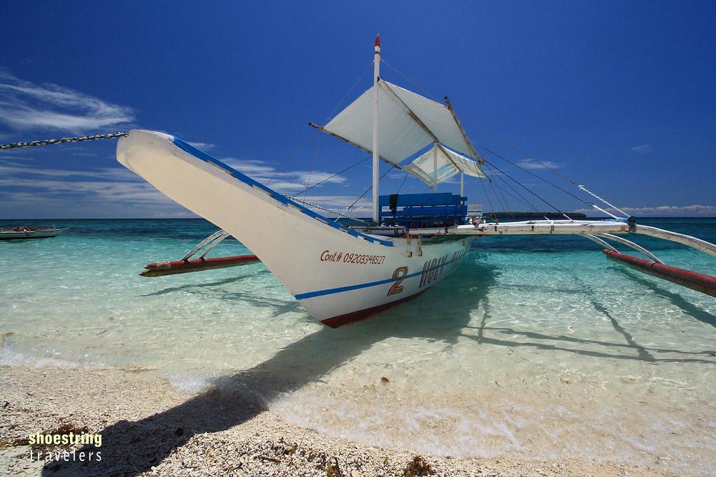 tour boat at Digyo Island