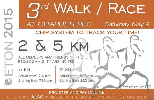 3rd Walk/Race