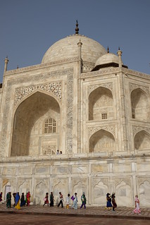 Taj Mahal Āgra 근처 의 이미지. white taj mahal tajmahal agra marble