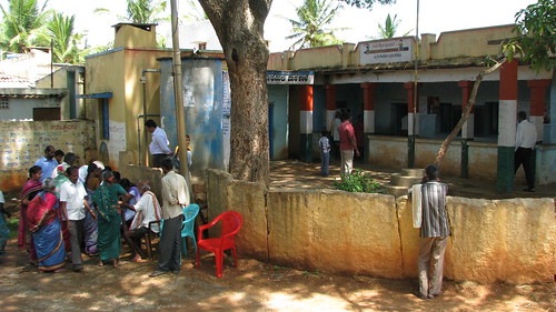 Outreach Health Program at Duddanahalli Village