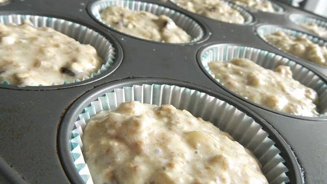 Banana Oat Bran Muffins 9