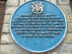 Photo of George Grey and Market, Altrincham blue plaque
