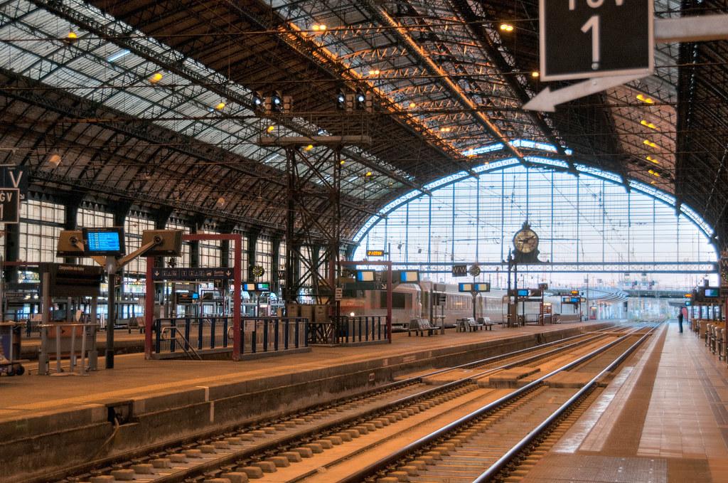 Train Station in Bordeaux