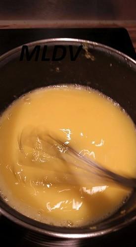 chauffer la crème de citron