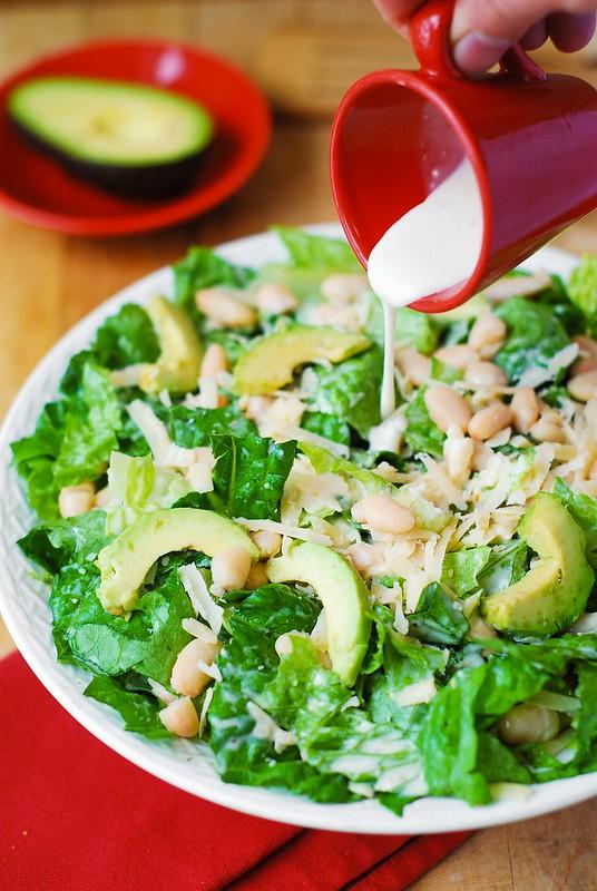 romaine lettuce salad, salad recipes