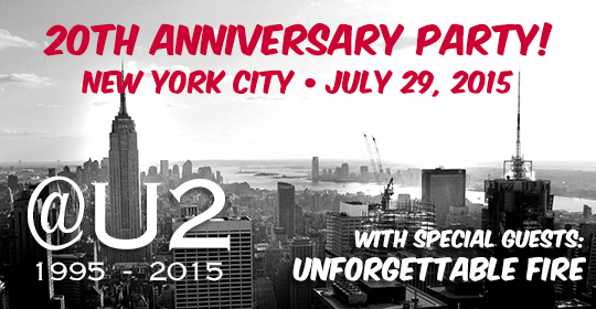 Announcing our 20th anniversary party