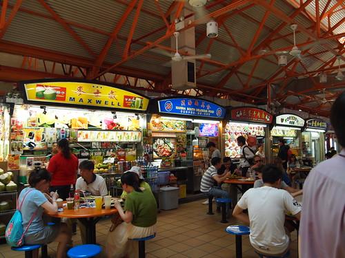 P4178997 Maxwell Food Centre(マックスウェル・フードセンター) シンガポール 天天海南鶏飯