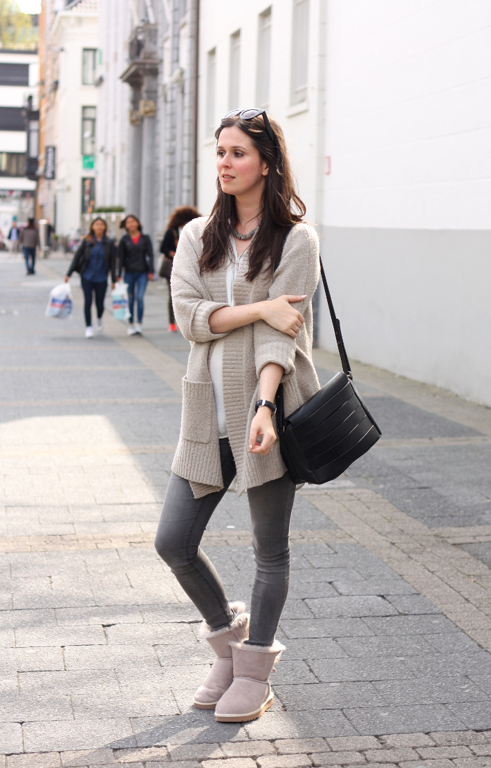 Outfit casual in ugg selene booties the styling dutchman - Beige kombinieren ...